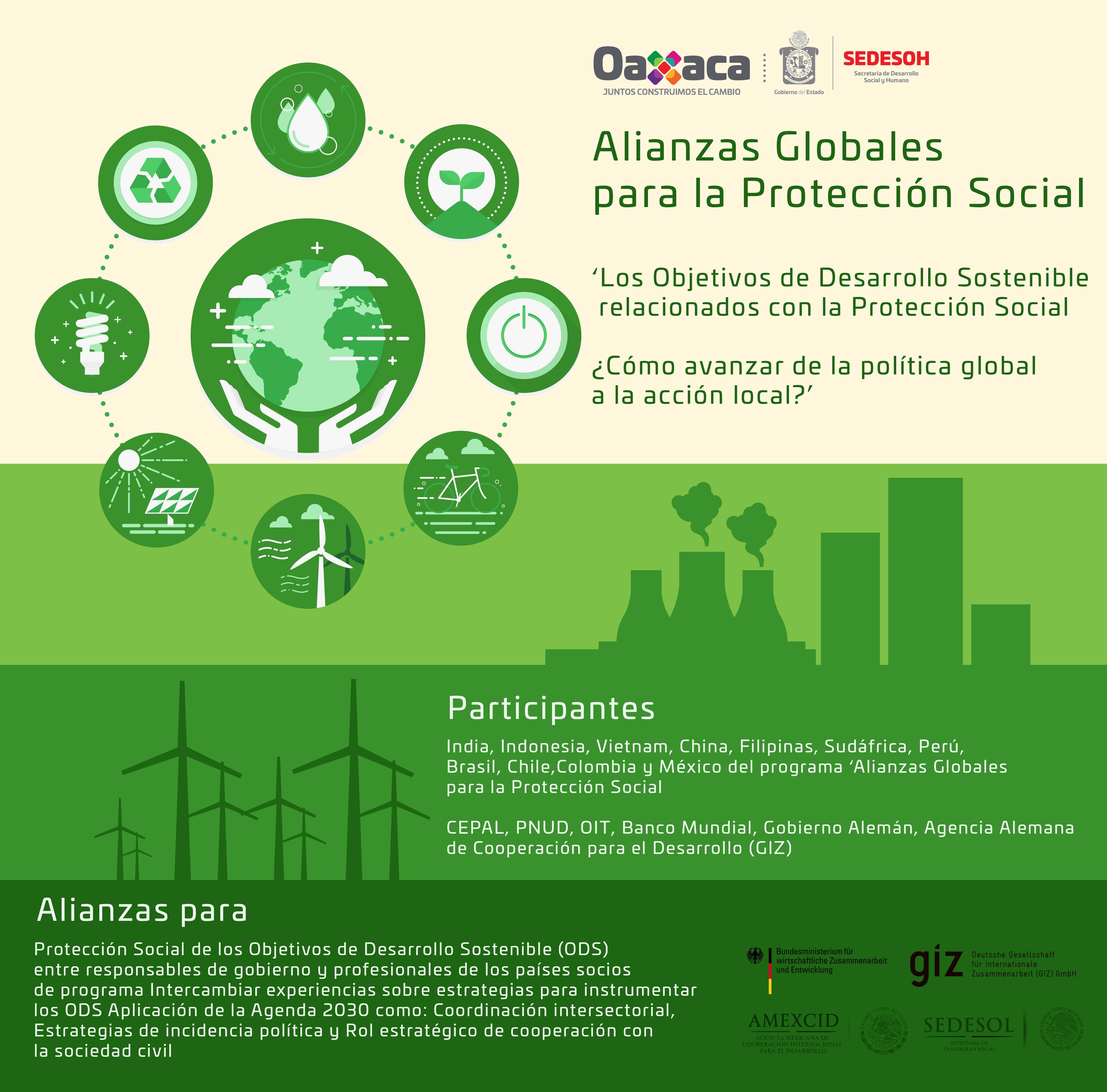 Alianzas globales para la protección social