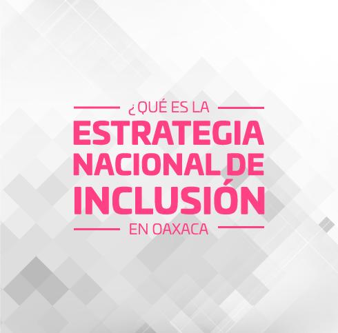 Estrategia Nacional de Inclusión 01