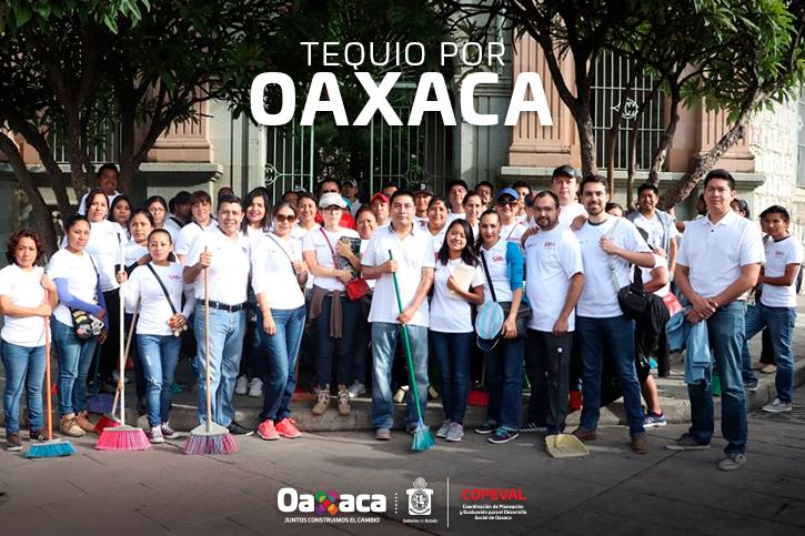 Tequio por Oaxaca Julio 2018