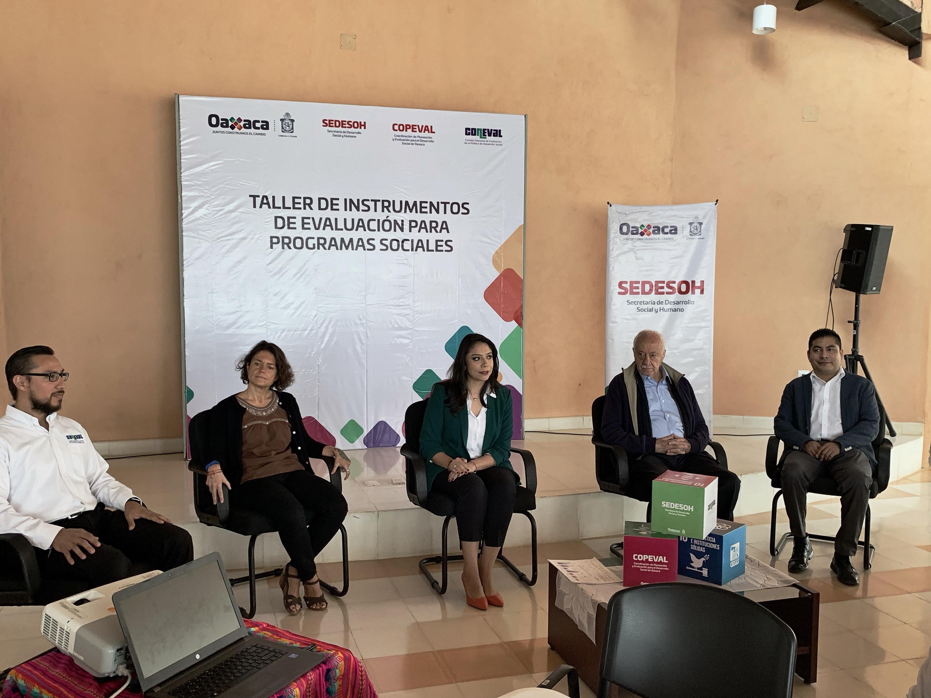 Fortaleciendo la Cultura de la Evaluación en Oaxaca